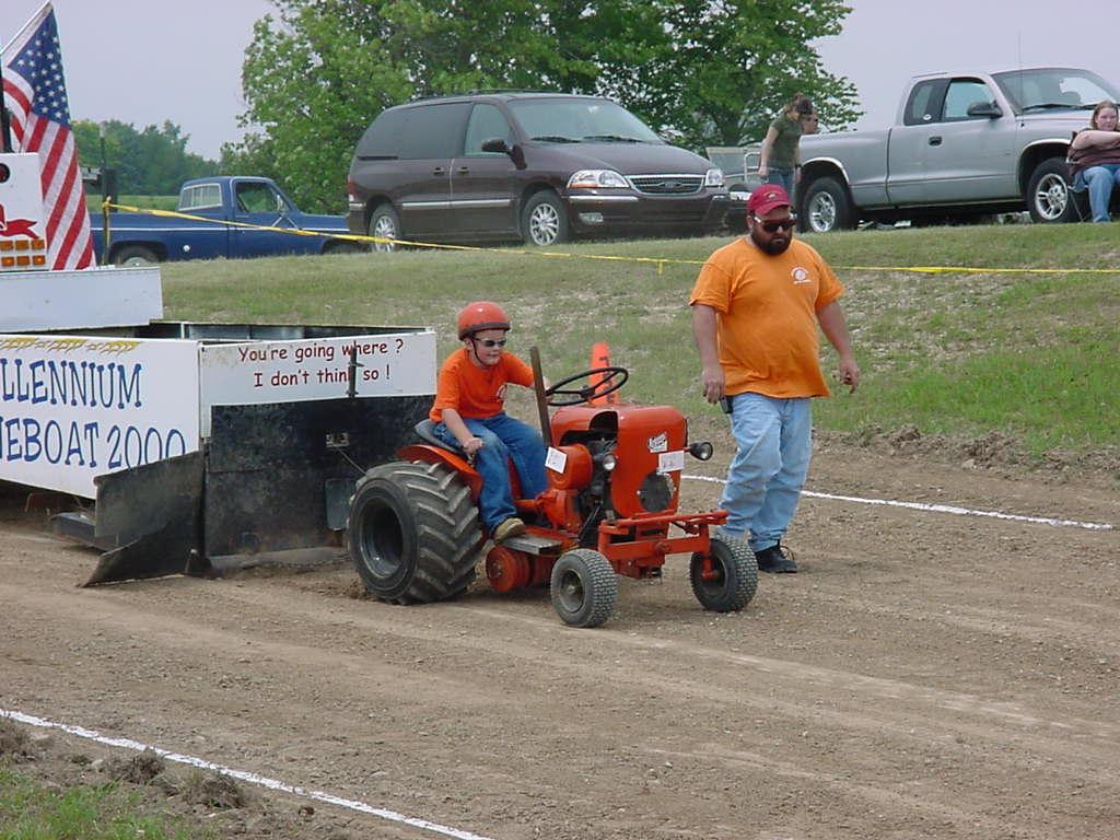 Garden Pulling Tractor Decal : Garden tractor pulling car interior design